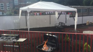 A successful BBQ with Ikon Fostering of Walsall, West Midlands