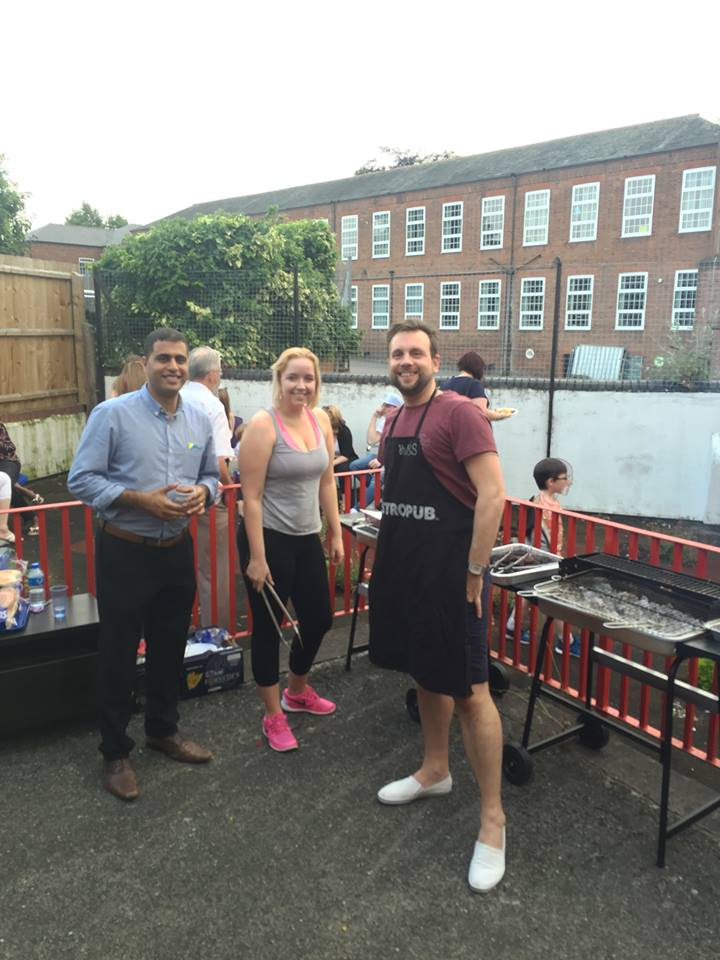 Local BBQ with Ikon Fostering of Walsall, West Midlands