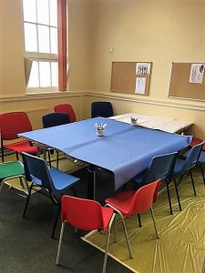 An activity room for foster children provided by Ikon Fostering of Walsall, West Midlands
