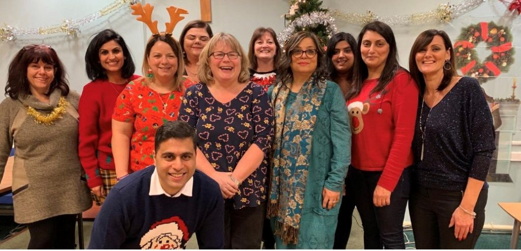 xmas celebration for all foster carers and fostering in the West Midlands